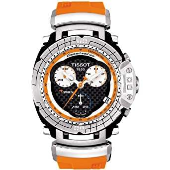 0cc9c4d7390 Image Unavailable. Image not available for. Color  Tissot Men s T-Race  Nicky Hayden 2008 Limited Editon watch ...