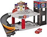 Mattel Piston Cup Racing Garage