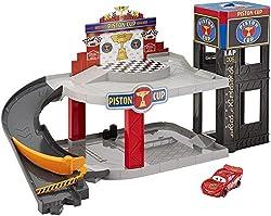 Mattel Piston Cup Racing Garage