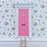 tinkerbell tree house - Fairy Door - The Best Bubblegum Pink Magic Door with ladder kit for child's room, perfect for bringing fun, adventure and magic to your home