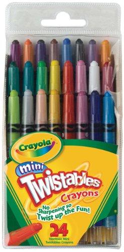 Crayola Mini Twistable Crayons Total