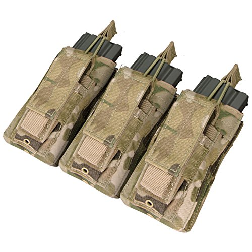 Triple Kangaroo Magazine Pouch - Color: Multicam (Pouch Rifle Magazine)