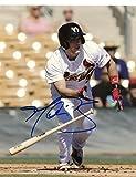 Harrison Bader St. Louis Cardinals Signed Autographed 8x10 Photo W/coa - Autographed MLB Photos