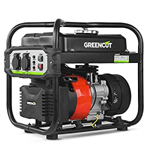 GREENCUT GRI200XM – Generatore elettrico a benzina inverter motore 4 tempi 119cc con uscita 2KW 51h09DT62vL. SS300