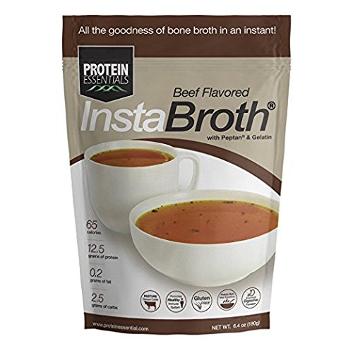 Protein Essentials InstaBroth with Peptan (Beef)