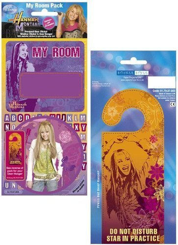 Hannah Montana - My Room Sticker Pack - Sticker Style