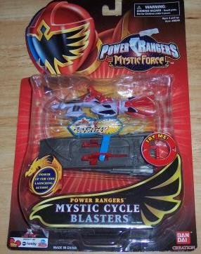 (Power Rangers Mystic Force - Mystic Cycle Blasters -)