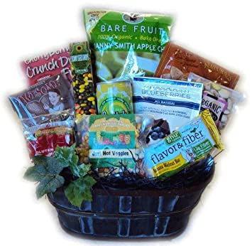 Heart Healthy Birthday Gift Basket For Him By Well Baskets Amazon