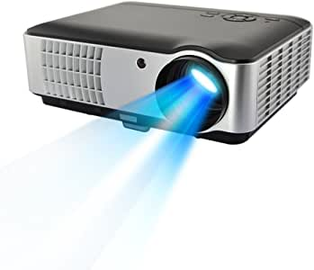 AOK 4200 ISO Lumens WiFi Wireless Android 4.4 LED Bluetooth 1280800 Suppor 1080P Contrast Ratio 7000:1 Smart Projector Best Choice for Home Theater China Most Famous Projector Brand