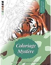 Coloriage Mystère: Animaux Sauvages - 50 coloriages numérotés pour adultes