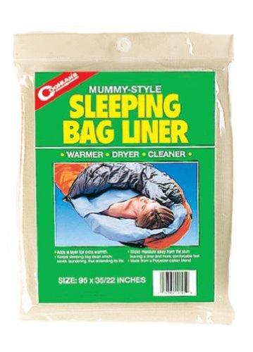 Coghlan's Mummy Sleeping Bag Liner, Outdoor Stuffs