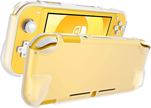 ESR Funda Tranasparente para Nintendo Switch Lite, TPU Delgado y Transparente, Funda de Silicona Flexible para ...