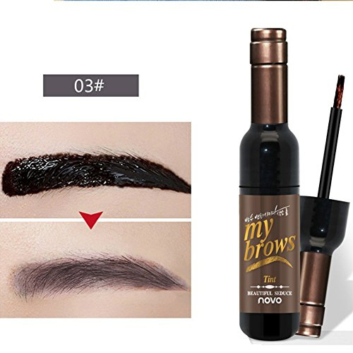 Shouhengda Tattoo Eyebrow Gel Peel Off Natural Eyebrow Long-Lasting Waterproof Tint Dye Cream (A3)