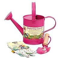 Tierra Garden 7-LP114 Little Pals Kids Watering Can Kit, Blue