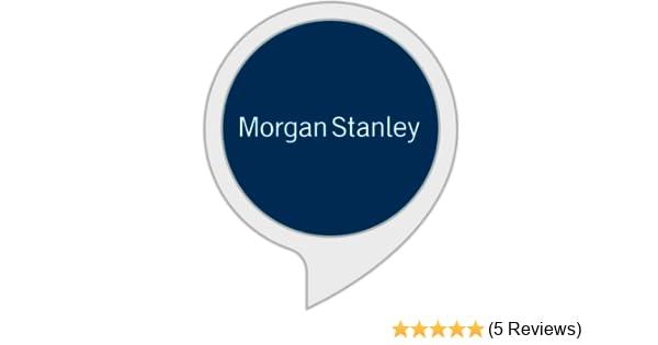 Amazon com: Morgan Stanley: Alexa Skills