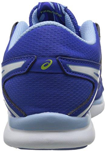 Asics Womens Gel Fit Tempo 2 Fitness Scarpa Blu Viola / Bianco / Blu Campana