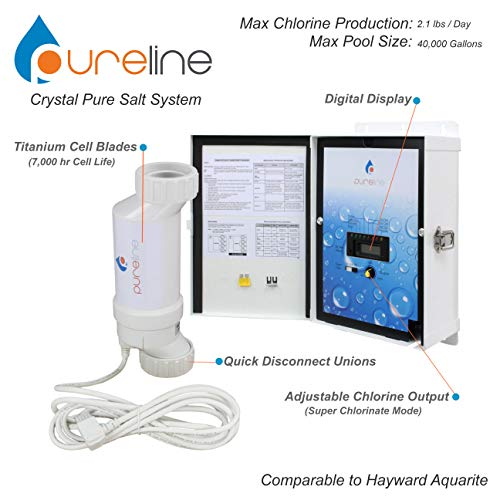 Crystal Pure Pool Salt System (40,000 gallons)