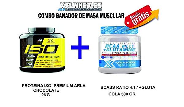 ISO WHEY GANADOR DE MASA MUSCULAR COMBO+ BCASS 8.1.1 ...