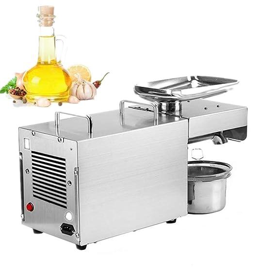GRASSAIR Ölpresse Commercial Grade Home Hot Cold Automatic Ölpresse 304 Edelstahl Oliven-Expeller-Ölausfall-Maschine für Erdn