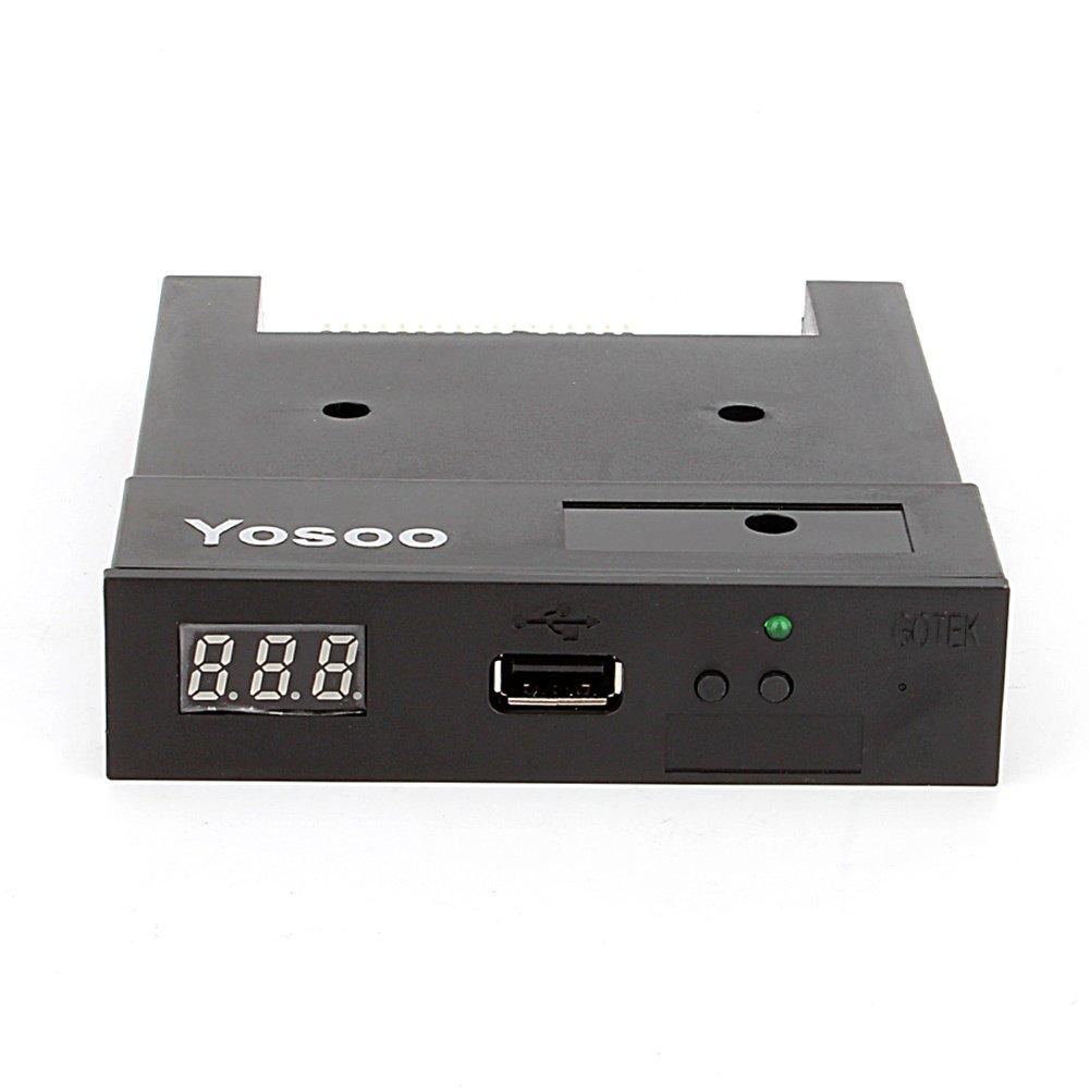 Unidad de disquete USB, 3.5 'SFR1 M44-U100 K USB emulador de unidad de disquete Floppy Drive Emulator para ó rgano electró nico zerone