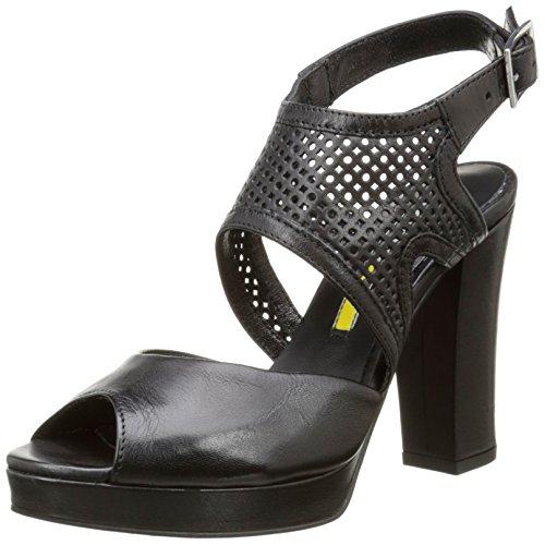Manas 161m4407ssf - Sandalias de vestir Mujer Negro