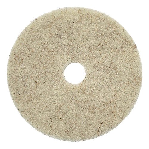 Natural Tan Hog Hair Floor Pad, 27