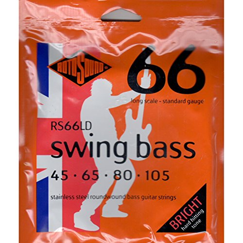 Rotosound RS66LD Long Scale Swing 66 Bass Strings Rotosound Swing Bass