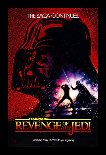 (Star Wars Revenge of the Jedi - 11x17 Framed Movie Poster by Wallspace)