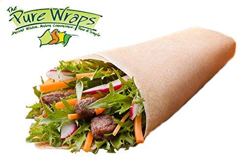 - Pure Wraps, Paleo Coconut Wraps, Original Flavor, 8 Count (2 Packs of Four Wraps)