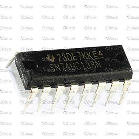 50PCS SN74HC138N 74HC138 DIP IC TI NEW