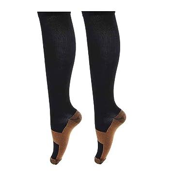 77921c5869 Prettyui Copper Compression Socks For Men & Women Anti Fatigue Soft Pain  Relief Miracle Copper Fibers