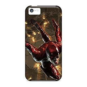 High Quality Cell-phone Hard Covers For Iphone 5c (vTr7254WqZx) Customized Vivid Daredevil I4 Pictures
