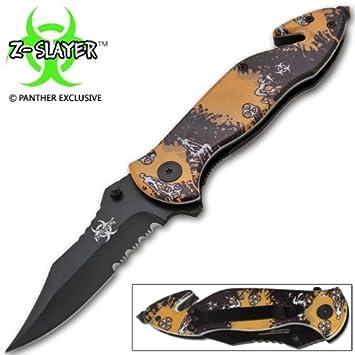 Amazon.com: Zombie asistida Acción Rescue – Cuchillo ...