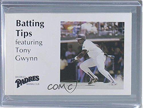 Amazoncom Tony Gwynn Baseball Card 1986 Smokey Bear San