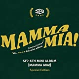 SF9 [MAMMA MIA!] 4th Mini Album Special Edition CD+Photobook+Card+Bookmark+Tracking Number SEALED