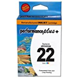 Performance Plus Remanufactured Ink Cartridge Replacement for HP C9352AN #22 ( Tri Color )