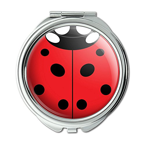 Lady Bug Ladybug Insect Compact Purse Mirror ()