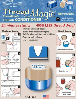 - Thread Magic Thread Conditioner Combo, CLEAR