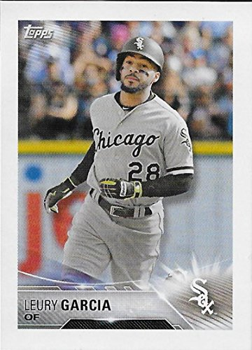 2018 Topps MLB Baseball Sticker Collection #123 Leury Garcia Chicago White Sox Paper Thin 2 by 3 inch Stickers for Album