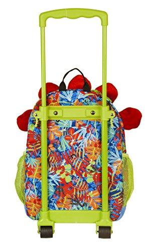 okiedog wildpack junior 86012 trolley para niños DINOSAURIO, rojo DINOSAURIO rojo