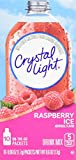 ice for drinks - Crystal Light Drink Mix, Raspberry Ice, On The Go Packets, 10 Count (Pack of 6 Boxes)