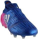 adidas Men's X 16+ Purechaos FG Soccer Cleats (Sz. 9.5) Blue, Shock Pink