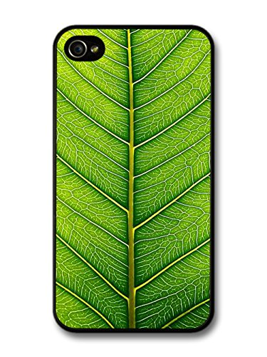 Green Leaf Close Up Cool Style Design coque pour iPhone 4 4S