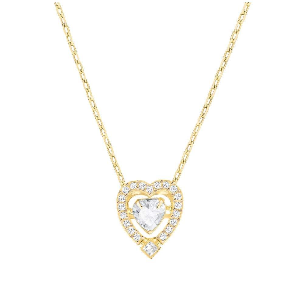 Swarovski Pendant Sparkling Dance Heart 5284190 Woman Crystal