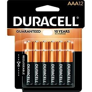 Duracell Coppertop Alkaline AAA Batteries - 12 Count Recloseable
