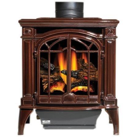 propane fireplace stove - 4