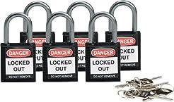 Brady 118970 Black, Brady Compact Safety...