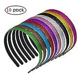 Glitter Headbands for Girls