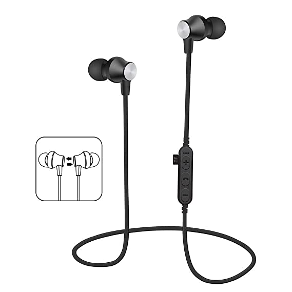 9e0c4c49c42 KUAW Wireless Earbuds, 3D Stereo Sound Wireless Headphones Wireless Sport  Earbud with Breathing Mini in
