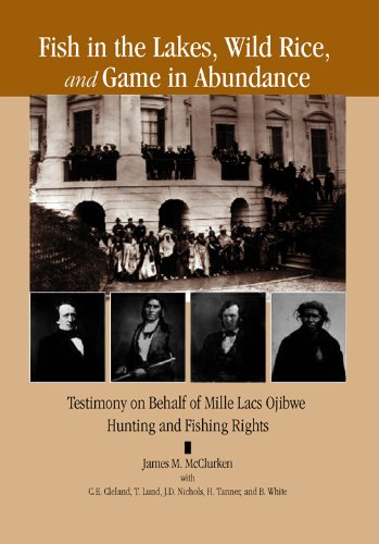 Fish in the Lakes, Wild Rice,  and Game in Abundance: Testimony on Behalf of Mille Lacs Ojibwe Hunting and Fishing Rights